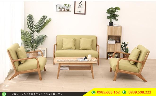 Sofa Gỗ Phòng Khách KA.012 - Nội Thất Kiên Anh