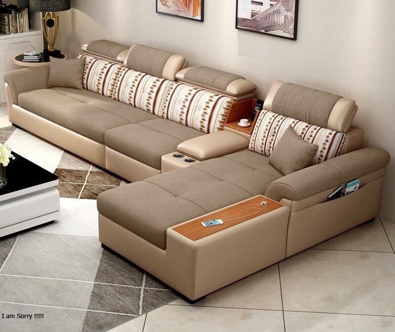 Sofa Gục vải 02 - Nội Thất Kiên Anh