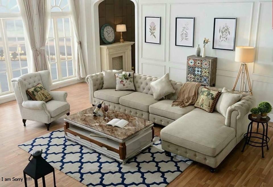 Sofa cổ điển Châu Âu - Nội Thất Kiên Anh