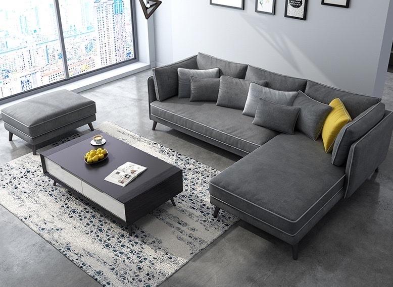Sofa Góc Vải KA.22 - Nội Thất Kiên Anh