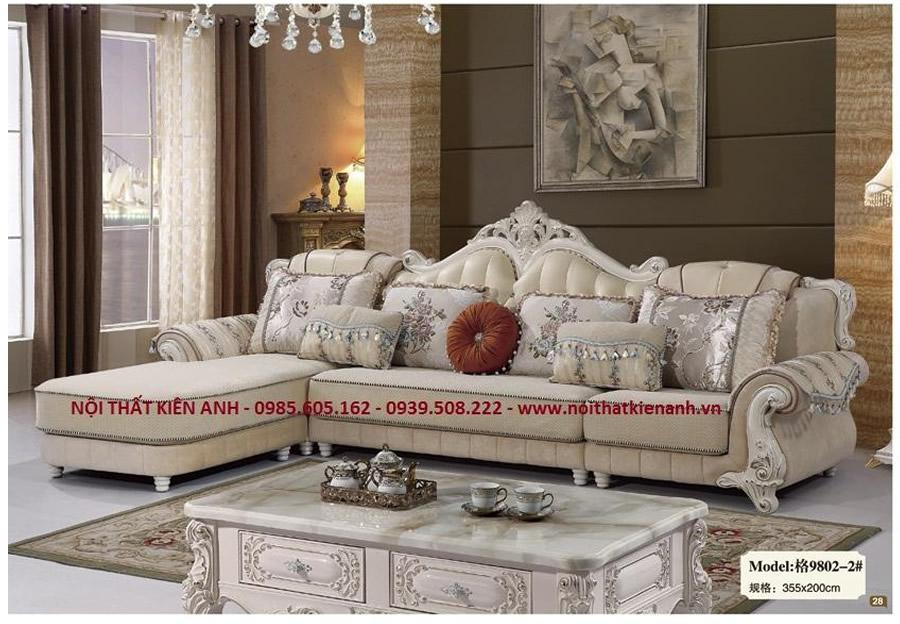 Sofa Cổ Điển 9802 - Nội Thất Kiên Anh