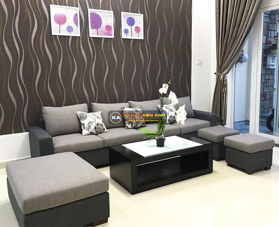 Sofa Băng 3 Chỗ PK006 - Nội Thất Kiên Anh