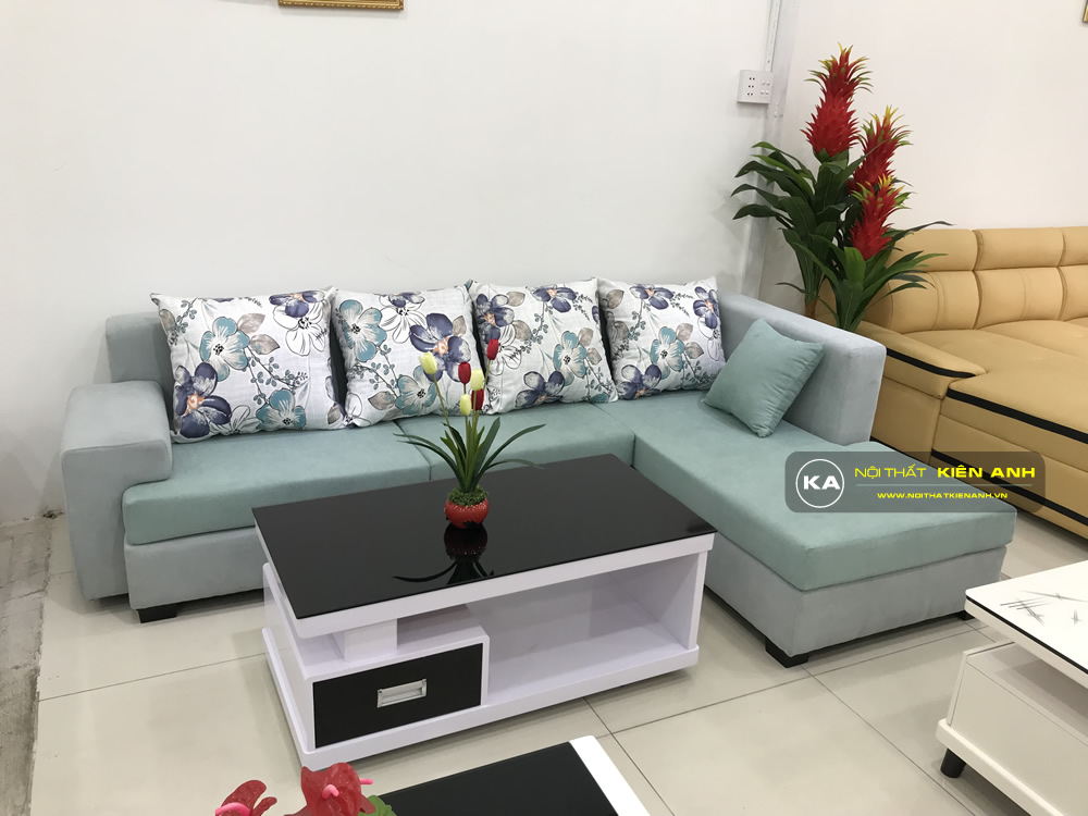 Sofa Vải Phòng Khách KA010 - Nội Thất Kiên Anh
