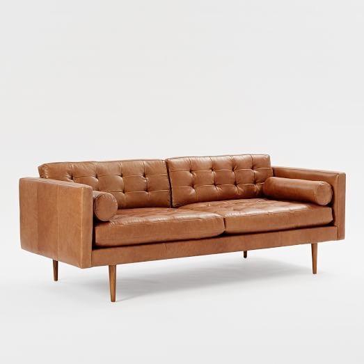 Sofa băng da phòng khách KA010 - Nội Thất Kiên Anh